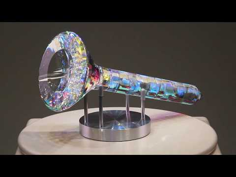 Optee - Glass Sculpture by Jack Storms