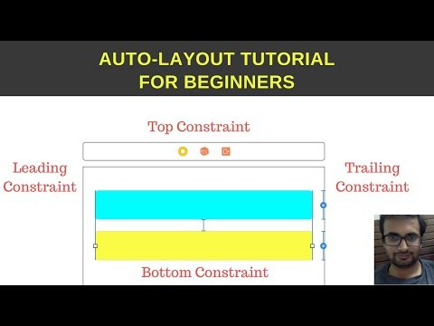 Auto-layout tutorial for beginners (Xcode 9.2)