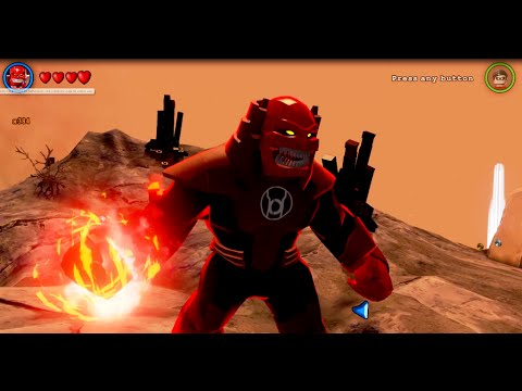 LEGO Batman 3: Beyond Gotham - Atrocitus Gameplay and Unlock Location