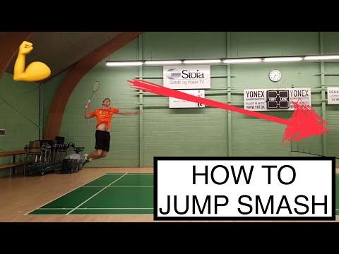 BADMINTON TECHNIQUE #41 - JUMP SMASH, THE ULTIMATE WEAPON