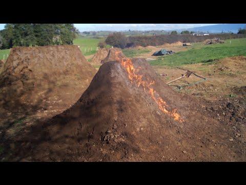 backyard dirt jumps 2: big line hits