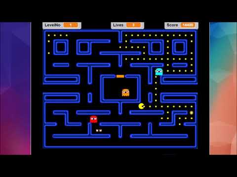 How to Make PacMan on Scratch - PACMAN Game Creation Tutorial - Scratch
