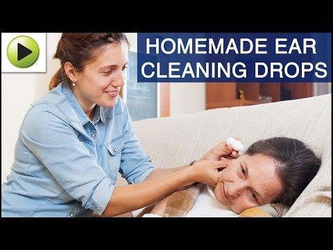 DIY Ear Cleaning Drops