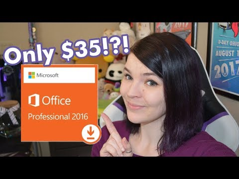 MS Office 2016 Pro - $35 - How to Buy, Download, & Activate!