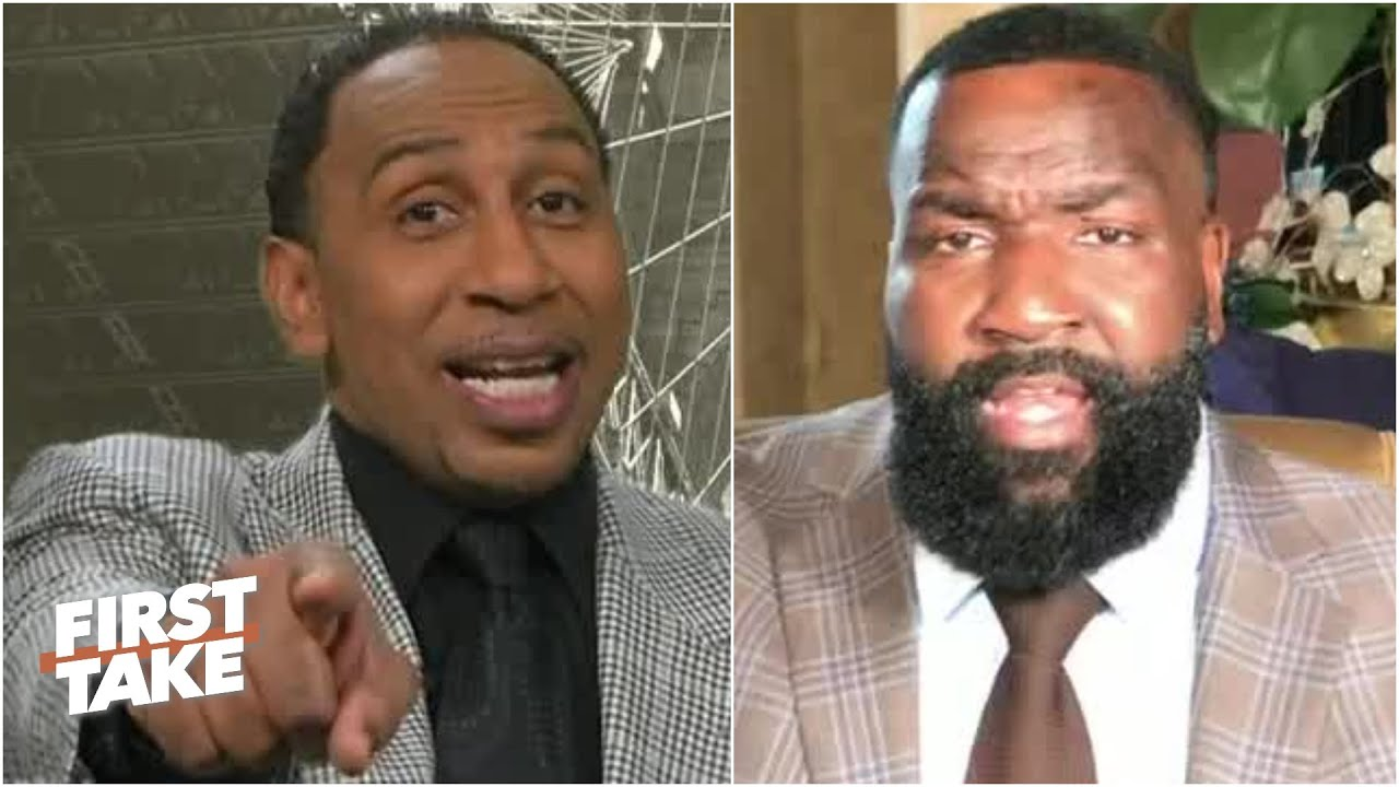 I got you now! - Stephen A. claims victory over Kendrick Perkins in LeBron vs MJ debate   First Take