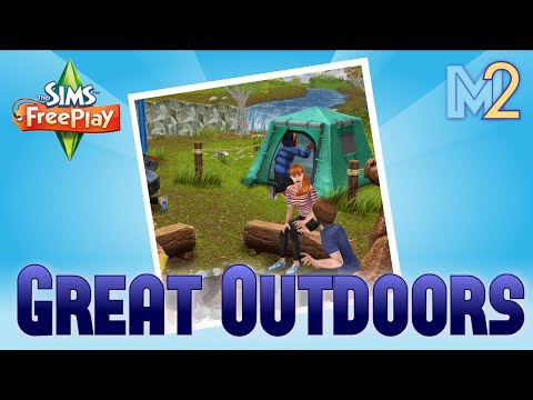 Sims Freeplay - Outdoors Quest (Tutorial & Walkthrough)