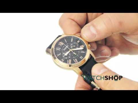 Fossil Men's Grant Chronograph Watch (FS4835)