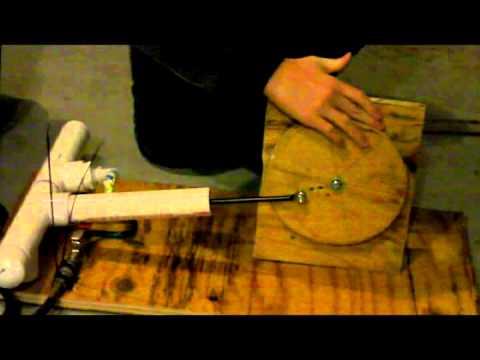 PVC Compressed Air Steam Engine