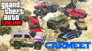 GTA 5 Online | Offroad Truck / Carmeet  with New Freecrawler 1/2