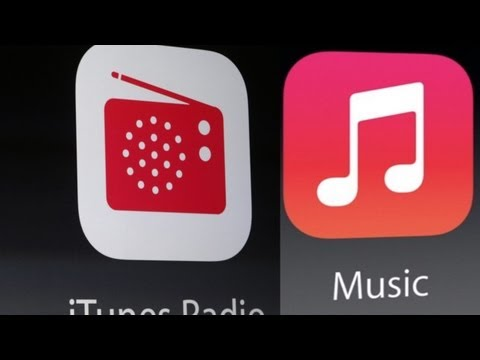 iOS 7 Music and iRadio (iTunes Radio) DEMO and REVIEW