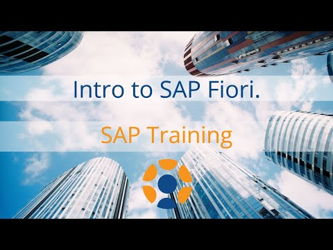 Intro to SAP Fiori