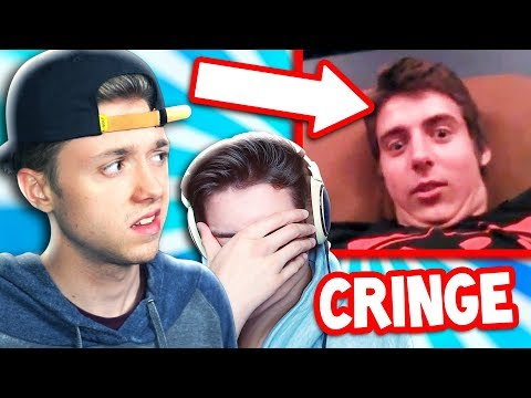 THE PALS REACT TO THEIR OLD VIDEOS! *CRINGE*
