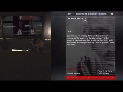NBA 2K12 My Player - Shoe Commercial