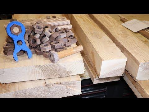 Building An Industrial Look Headboard Part 1