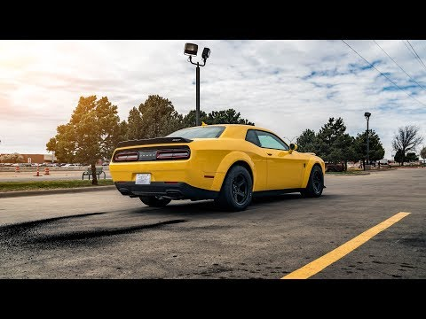 HOW TO PICK UP YOUR DODGE DEMON FROM THE DEALERSHIP?!
