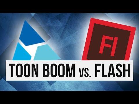 Toon Boom Harmony vs. Flash (Animate CC)