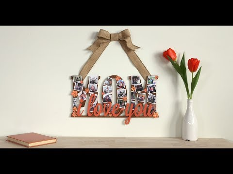 Mom Collage Sign for Mother's Day! DIY