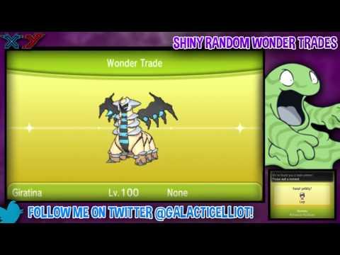 Pokemon X & Y Shiny Random Wonder Trade Live Stream! #1