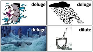 20 3 deluge dilute meaning in Hindi by Puneet Biseria