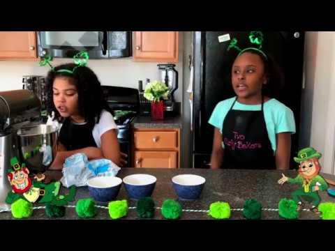 Green Velvet Cupcakes St.Patrick Day 2018
