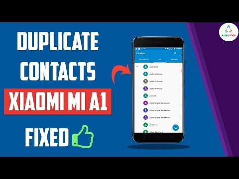 Fixed : Duplicate Contacts Issue on Xiaomi Mi A1 | हिंदी