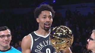 NBA All-Star Skills Challenge 2018! Spencer Dinwiddie Champion!