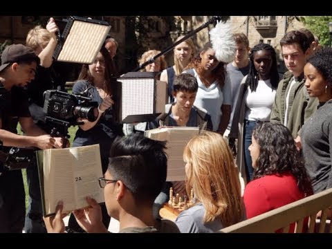 Behind-the-Scenes of the New Yale Admissions Video