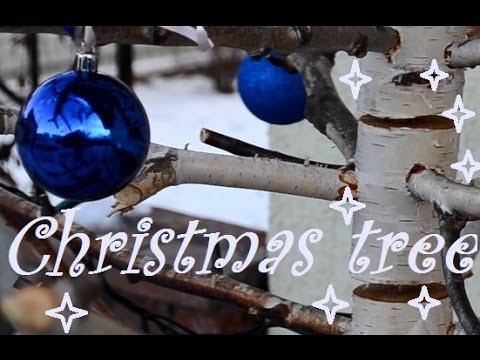 Birch tree - Christmas tree