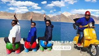 3 Idiots in Pangong Lake, INB Trip EP #70