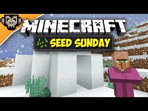 Minecraft 1.12.2 | Double Igloo Spawn | Seed Sunday - Ep249