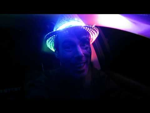 LED Hat - Rainbow Lighting for Halloween