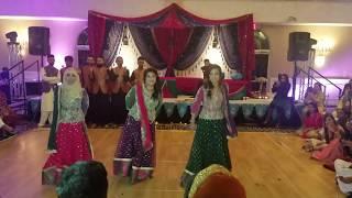 Best Mehndi Dance 2017 (Khurrum and Umsa)
