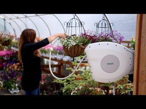 Hoselink Retractable Hose Reel 💦🌿 // Garden Answer