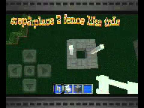Minecraft pe: how to build a well/wishing well