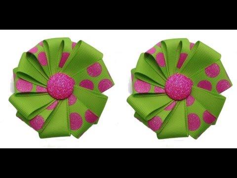 Make A Ribbon Flower Easy DIY Tutorial