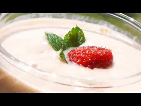 Banana & Avocado & Strawberry Smoothie