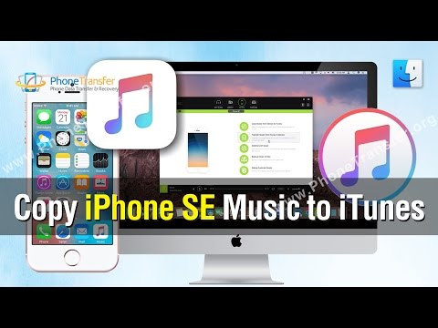 How to Copy iPhone SE Music to iTunes, Sync Purchased or Not Purchased Music with iTunes Library