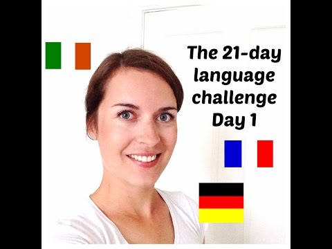 How to learn a language fast: the 21-day challenge (day 1)