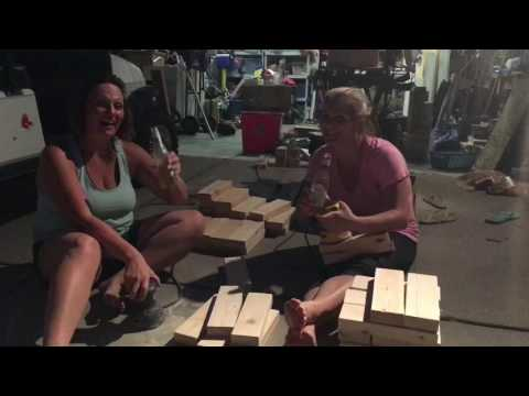 Do It Yourself- JENGA! With Misty & Shannon