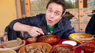 Best Bhutanese Food - FEAST of Bhutan Dishes - Fermented YAK Cheese! (Day 12)