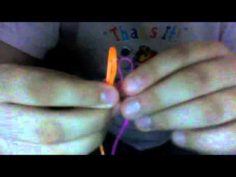 lanyards: how to make a butterfly stitch (part 1)