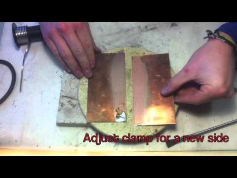 Hexacon - Soldering a Copper Seam
