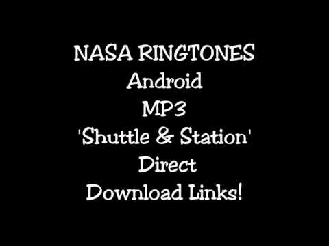 NASA Ringtones Android MP3 'Shuttle & Station'