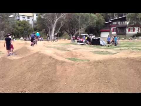 Pump Track action Thredbo