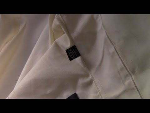 How to Remove Stains from a Shirt Collar