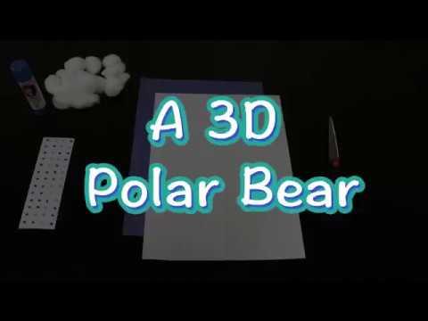 How To Make A 3D Polar Bear
