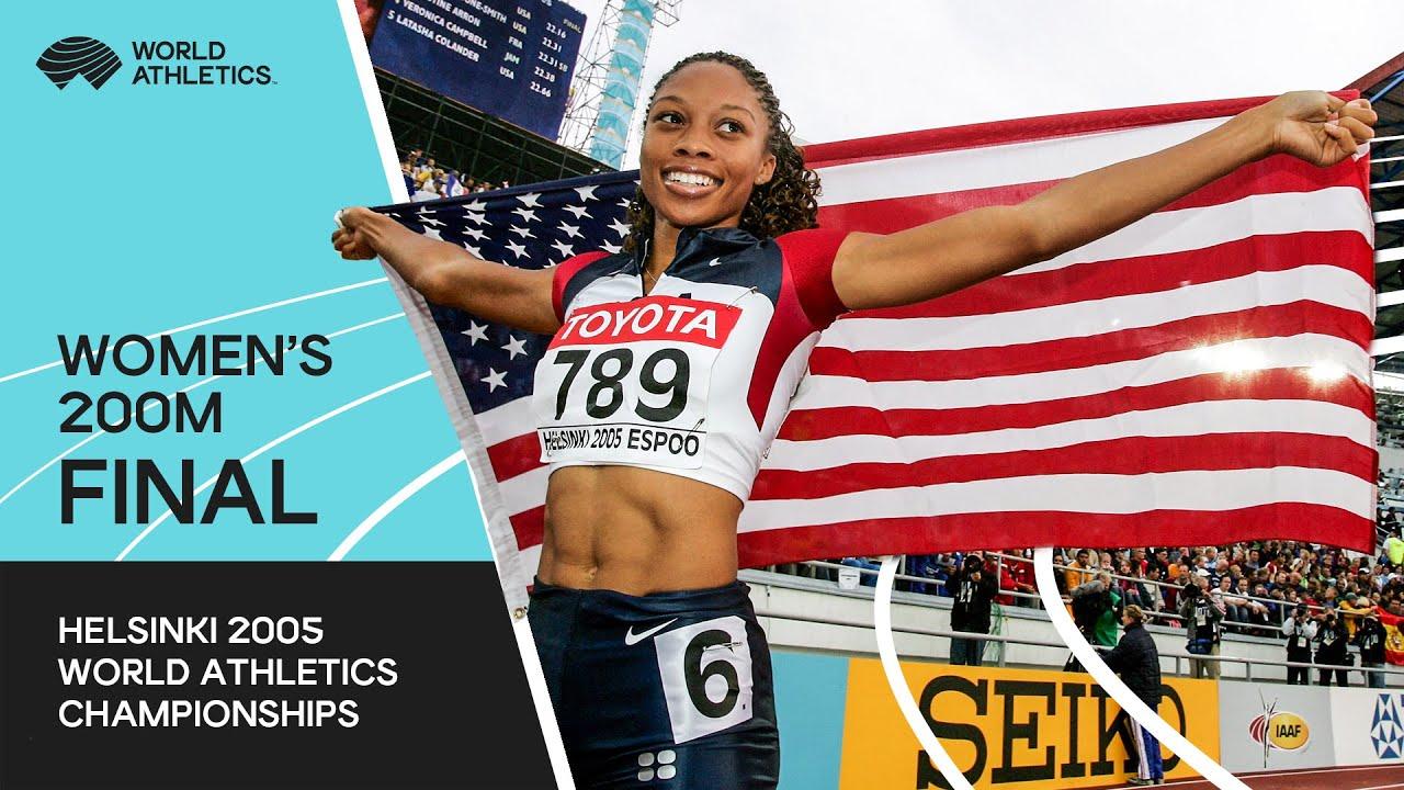 Women's 200m Final | World Athletics Championships Helsinki 2015