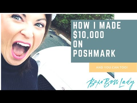 How I made $10,000 Selling on Poshmark to Help with Medical Bills!