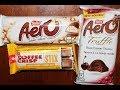 Nestle: Aero Dark Cherry Truffle, Aero White & Salted Caramel Coffee Crisp Stix Review
