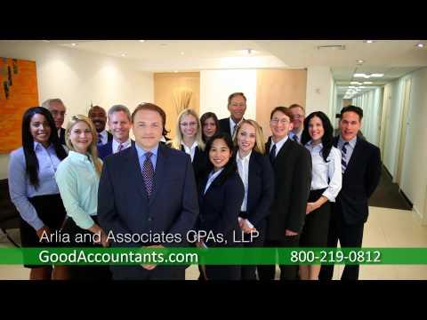 Arlia And Associates CPAs LLP - 1 (800) 219-0812